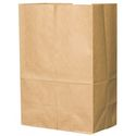 "Brown Paper Grocery Bag - 8.25"" x 5.94"" x 14.38"" - 20#"
