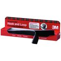 3M Fastner Hook-N-Loop, Black, 1 inch X 12 Inch, 12 per box, 06480