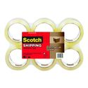 3M ScotchPro 3750-6 Clear Packaging Tape, 48 mm X 50 m, 6 rolls per pack, 91764