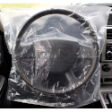 Slip-N-Grip Steering Wheel Cover, Roll of 500, Full Coverage 18x19.5, 1 MIL