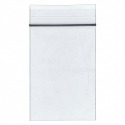 "3""L x 2""W Standard Reclosable Poly Bag with Zip Seal Closure, Clear; 2 mil Thickness, Box of 100"